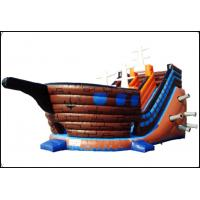 Buy cheap Pirateship Inflatable Slide Bouncy with Pool for Kids Jumping Beautiful and Good Quality Inflatable Bouncy Castle from wholesalers