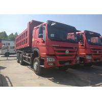 LHD / RHD Steering Heavy Dump Truck 6x4 Driving Type Manual Transmission