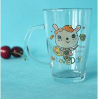 Buy cheap Custom made personalization transparent glass drinkware product