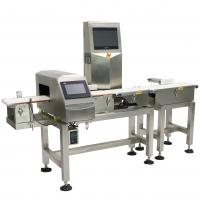 Buy cheap Waterproof Combo Online Checkweigher And Metal Detector Machine Stable , ± 0.1g Accuracy from wholesalers