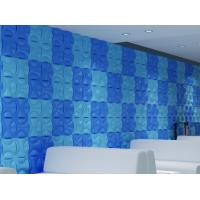 Quality Hotel Hallways Decorative Interior / Exterior 3D Wall Panels for Entertainment for sale