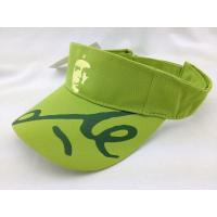 Buy cheap Wide Brim Golf Sun Protective Hats Lime Green With Embroidery Printing Logo from wholesalers