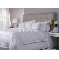 China 4PCS Set Environmental Nature Cotton Luxury Hotel Bed Linen Sheet Sets For Star Hotels on sale
