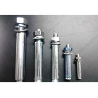 Buy cheap Carbon Steel M32 Expansion Anchor Bolt Stud Pan Head Square Neck Coarse / Fine Thread from wholesalers