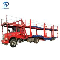 Buy cheap double floor car trailer car or vehicle trailer with 2 axles light type from wholesalers