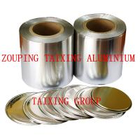 Buy cheap 8011  O lacquer aluminium foil for easy peel lids 0.06-0.1mm from wholesalers