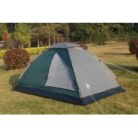 Buy cheap Single Layer Fabric Water Resistant Camping Gear Tent / Waterproof Family Tent from wholesalers
