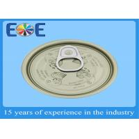 Buy cheap Eco-friendly Tinplate Tin Can Lids , Canned Food Easy Open Lid Full Open from wholesalers