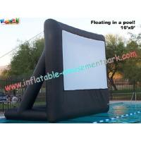 Buy cheap Custom Inflatable Movie Screen For Outdoor And Indoor Projection Movie Rental from wholesalers