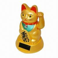 Buy cheap Bobble Head/Solar Toys/Minnie/Power Lucky Cat/Power Dancing Pig, Made of Non-toxic Material from wholesalers