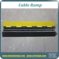 Buy cheap 1000mm X 250mm X 50mm Normal Cable Ramp Security Road Protector Speed Bump for Car from wholesalers