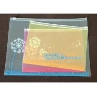 Buy cheap resealable mini plastic slider ldpe zipper storage bags, transparent slider zipper bag/ziplock packing garment / clothes from wholesalers