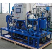 Buy cheap Custom Centrifugal Hfo Purifier Separator , Lube Oil Purification System from wholesalers