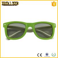 Buy cheap reusable 3d circular or linear polarized film 3d cinema passive glasses from wholesalers