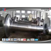 Buy cheap 34CrNiMo6 Wind Turbine Main Shaft Forging 6000T Open Die Hydropress from wholesalers