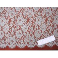 Buy cheap Eyelash Cord Lace Fabric  for Wedding Dress from wholesalers