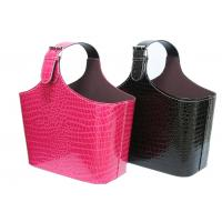 Buy cheap PU Leather Multi-function clothing, magazine storage gift basket wholesale from wholesalers