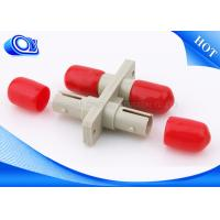 Buy cheap Duplex Plastic Optical Fiber Adapter , SC TO ST Fiber Adapter For Network from wholesalers