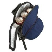 Quality Players Pack Cooler Backpack - Baseball Hat Design for sale