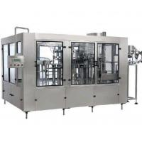 Buy cheap Stainless Steel  Wine / Zobo Drink Filling Machine , Beverage Bottling Equipment from wholesalers