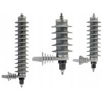 Buy cheap Metal Oxide Polymer Housing Surge Arrester,Polymeric Lighting Arrester from wholesalers