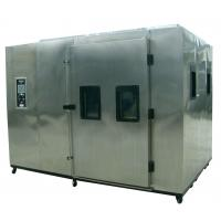 Buy cheap Air Cooled Rigid Foam Insulation Foodstuffs Auto Test Chamber from wholesalers