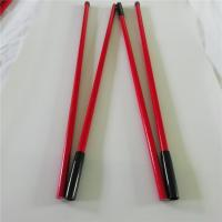 Buy cheap flexible Fiberglass tent poles / Foldable tent pole on sale 20mm / 5mm OD/ID from wholesalers