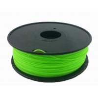 Buy cheap Customization 3.0mm Green 3D Printing Filament For 3D Printer Toughness from wholesalers