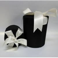 Buy cheap Garment and leather covered gift box with high quality ribbon bows from wholesalers