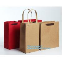 Buy cheap Luxury Carrier Paper Bag With Handles White Card Paper White Kraft Paper,personalized custom paper hair extension carrie from wholesalers