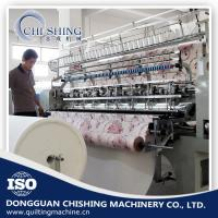 2.4 Meters Industrial Quilting Machines , Comforters Lockstitch Sewing Machine