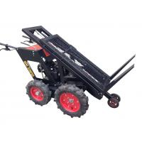 Buy cheap Motor Wheelbarrow with Power Lift , B&S  Engine 750 , Four Wheels, Chain Driver 4X4 from wholesalers