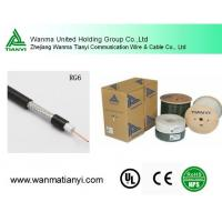 Buy cheap Low db Loss rg6 coaxial cable for CATV product
