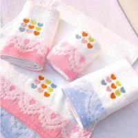 Buy cheap Hot selling jacquard cotton bath towel from wholesalers