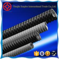 Buy cheap 1 inch black double buckle type anti-ultraviolet PVC Coated Flexible Conduit metal hose from wholesalers