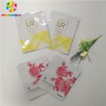 Buy cheap Aluminum Foil Sachet Plastic Cosmetic Bags For Facial Mask / Eyelash Packing from wholesalers