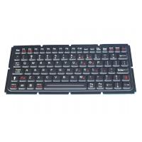 Buy cheap military Industrial PC Keyboard / flexible silicone keyboard with FN keys from wholesalers