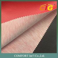 Buy cheap 140cm Width 1.0mm Thickness 100% PVC Leather Fabric , Faux Leather Upholstery Fabric product