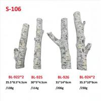 Buy cheap Gas Firepit Ceramic Logs 6pcs Ceramic Wood For Gas Fireplace S-106 from wholesalers