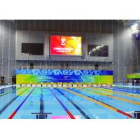 Buy cheap Indoor SMD P5 Stadium Display Programmable Electronic Billboard Full Color LED Video Walls With Magnetic Module from wholesalers