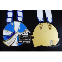 Buy cheap Zinc alloy Die Casing Metal Carnival Custom Sports Medals Marathon Half 10k 5k Medallion from wholesalers