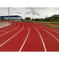 Buy cheap Stadium Rubber Running Track Material With EPDM Granules Surface 13 Mm Thickness from wholesalers