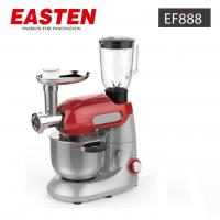 Buy cheap Easten Kitchen Plastic Stand Food Mixer EF888/ 1000W Electric Dough CakeStandMixer With Meat Grinder from wholesalers