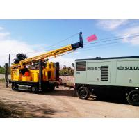 Buy cheap 400m Water Well Drilling Equipment With Eaton Hydraulic Motor 12T Feed Force from wholesalers