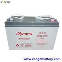Buy cheap 12V 100ah VRLA Deep Cycle Lead Acid AGM Battery for UPS from wholesalers