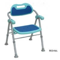 Buy cheap Aluminum folding shower chair With handle, bath chair from wholesalers