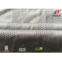 Buy cheap Fast Dry Fit  Athletic Mesh Knit Fabric , Mesh Football Jersey Fabric By The Yard from wholesalers