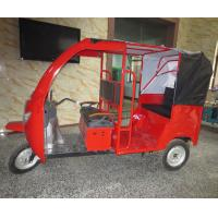 Buy cheap Windshield Glass Electric Passenger Tricycle Rickshaw Taxi 40-50km/H from wholesalers
