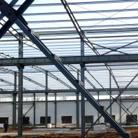 Buy cheap Fabricated Light Type Q235 Q345 Pre Built Metal Buildings Prefabricated Steel Structure from wholesalers