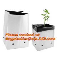 Buy cheap Flower bags, flower plant bags, planters, poly plant grow nursery bags,Black Polythene Poly Pots, plantin from wholesalers